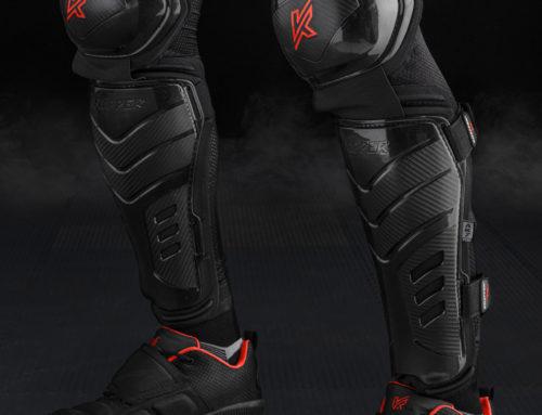 Knapper AK7 PRO – hokejbalové holenné chrániče